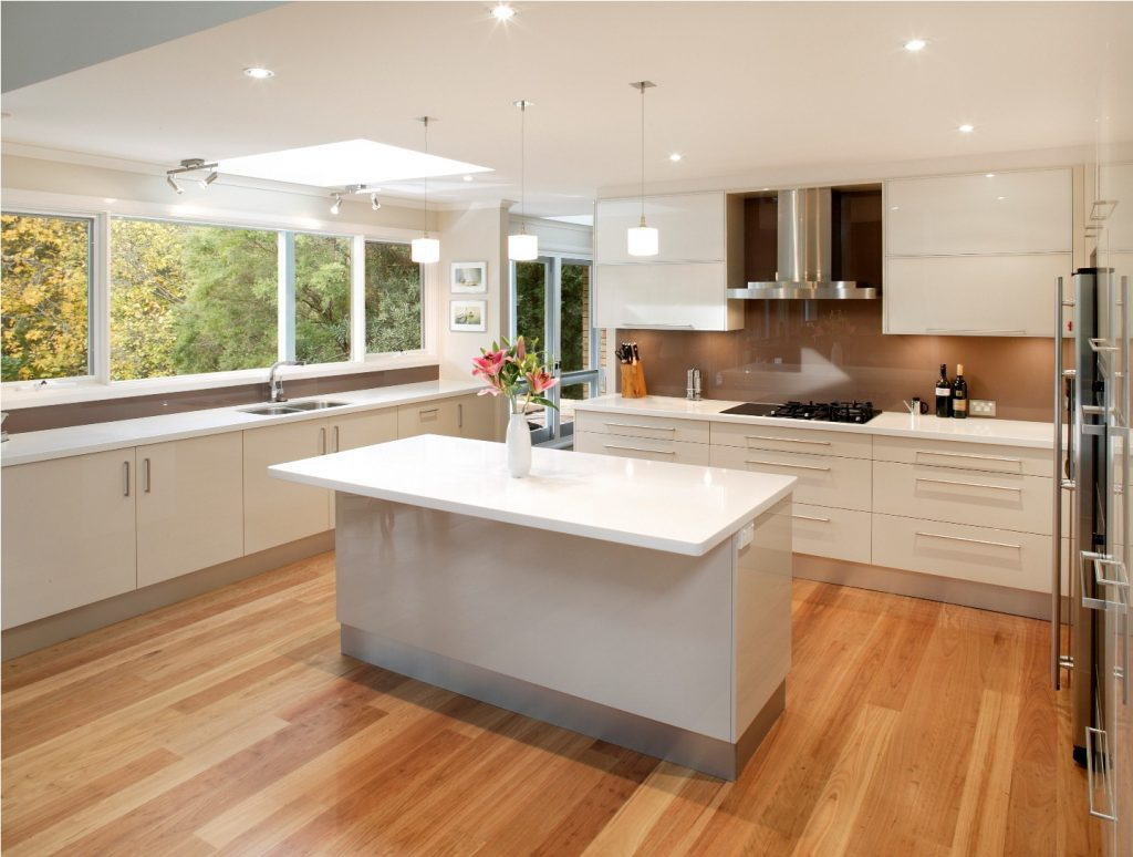 simple contemporary kitchen design ideas for your lovely family contemporary kitchen design Pretty White Contemporary Kitchen Design Ideas