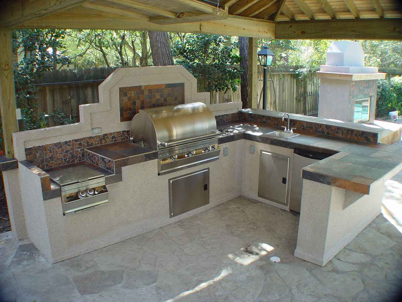 things to consider when creating outdoor kitchens outdoor kitchen sink