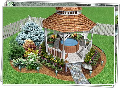Landscape Design Software by Idea Spectrum - Realtime Landscaping Pro
