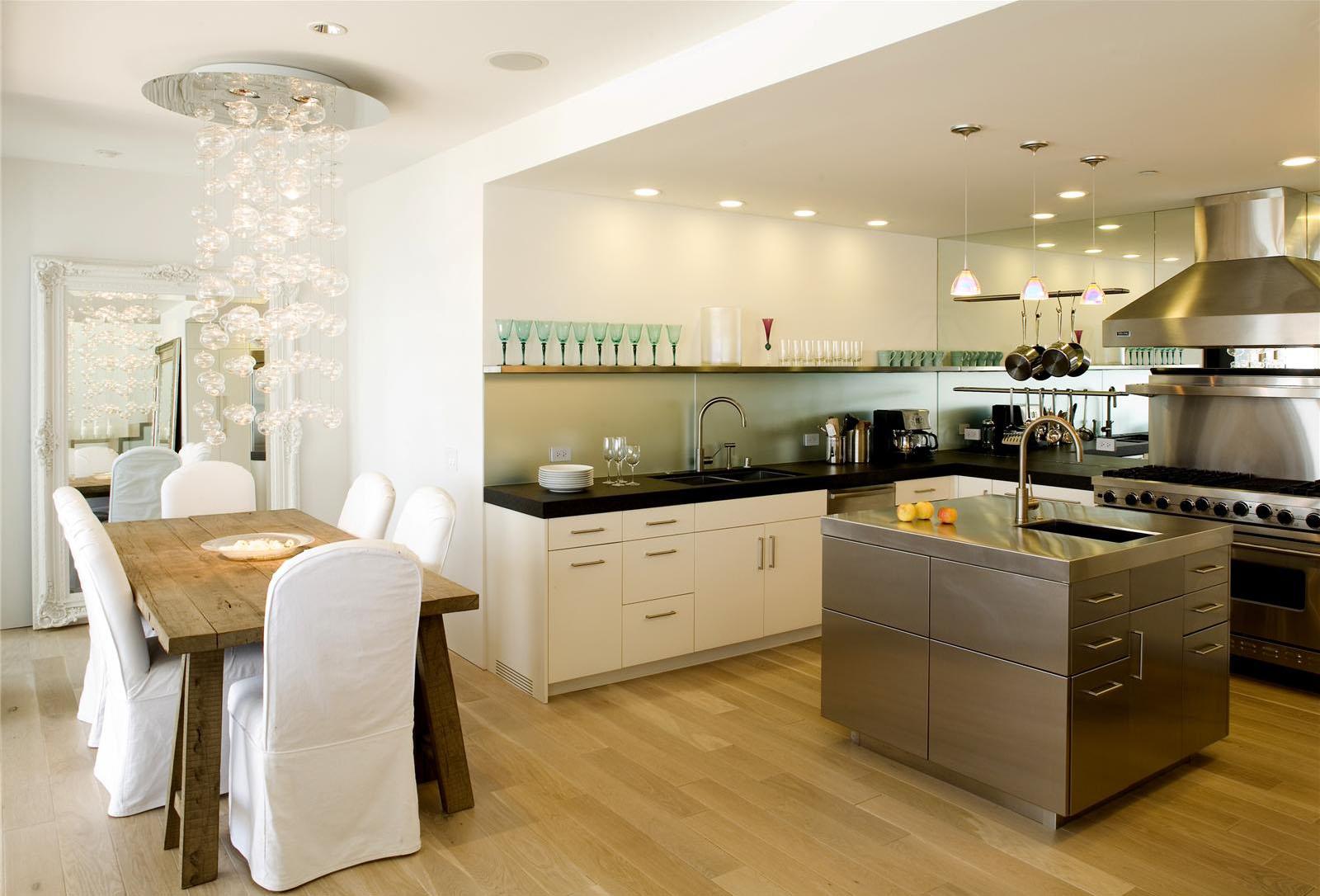 open contemporary kitchen design ideas open kitchen design Via Homeportfolio