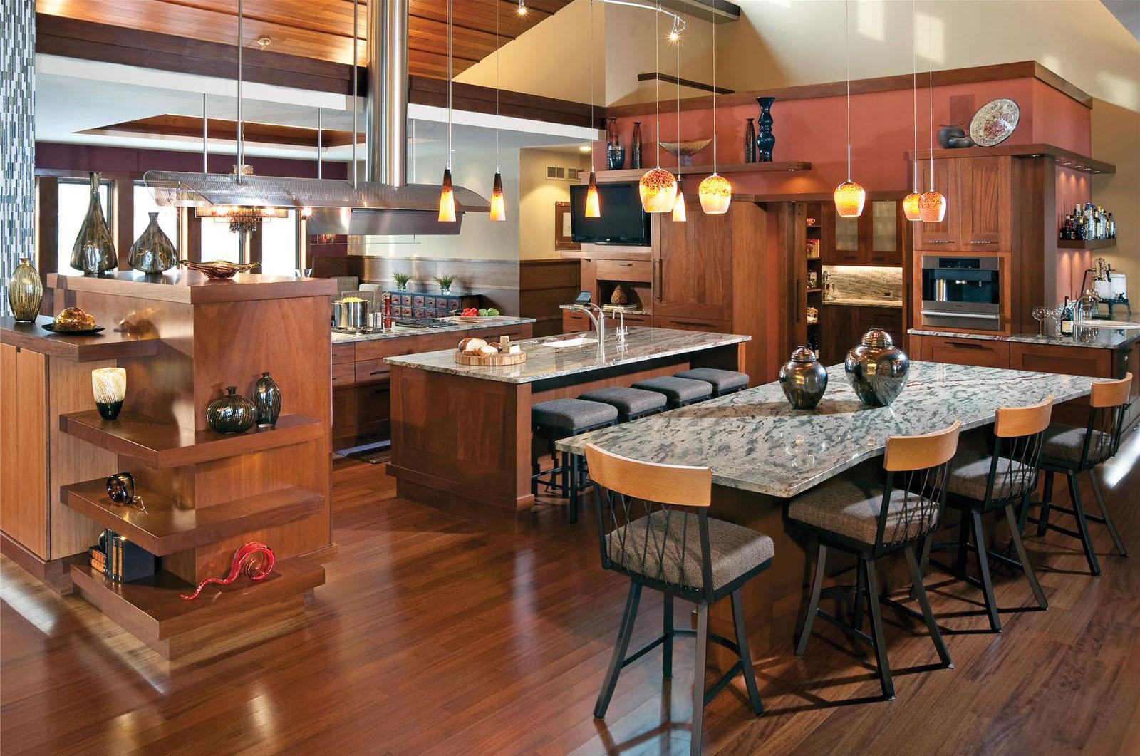 open contemporary kitchen design ideas kitchen designs pictures Via Homeportfolio