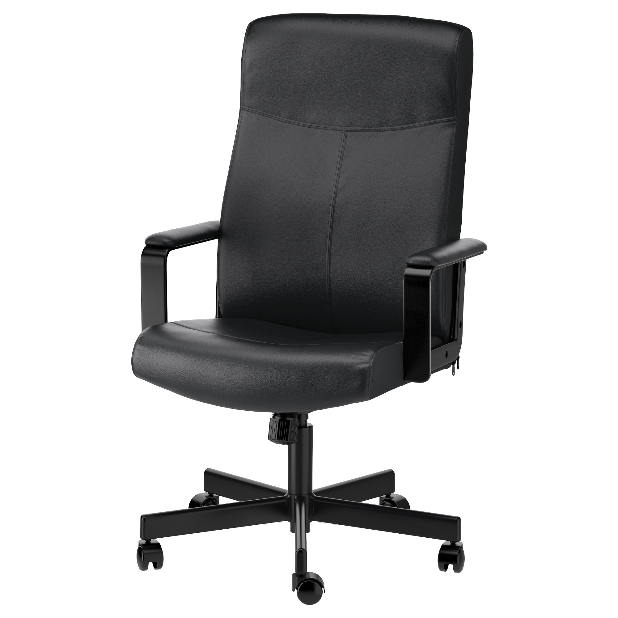 swivel kitchen chairs MILLBERGET swivel chair Bomstad black Tested for lb 8 oz Depth 25