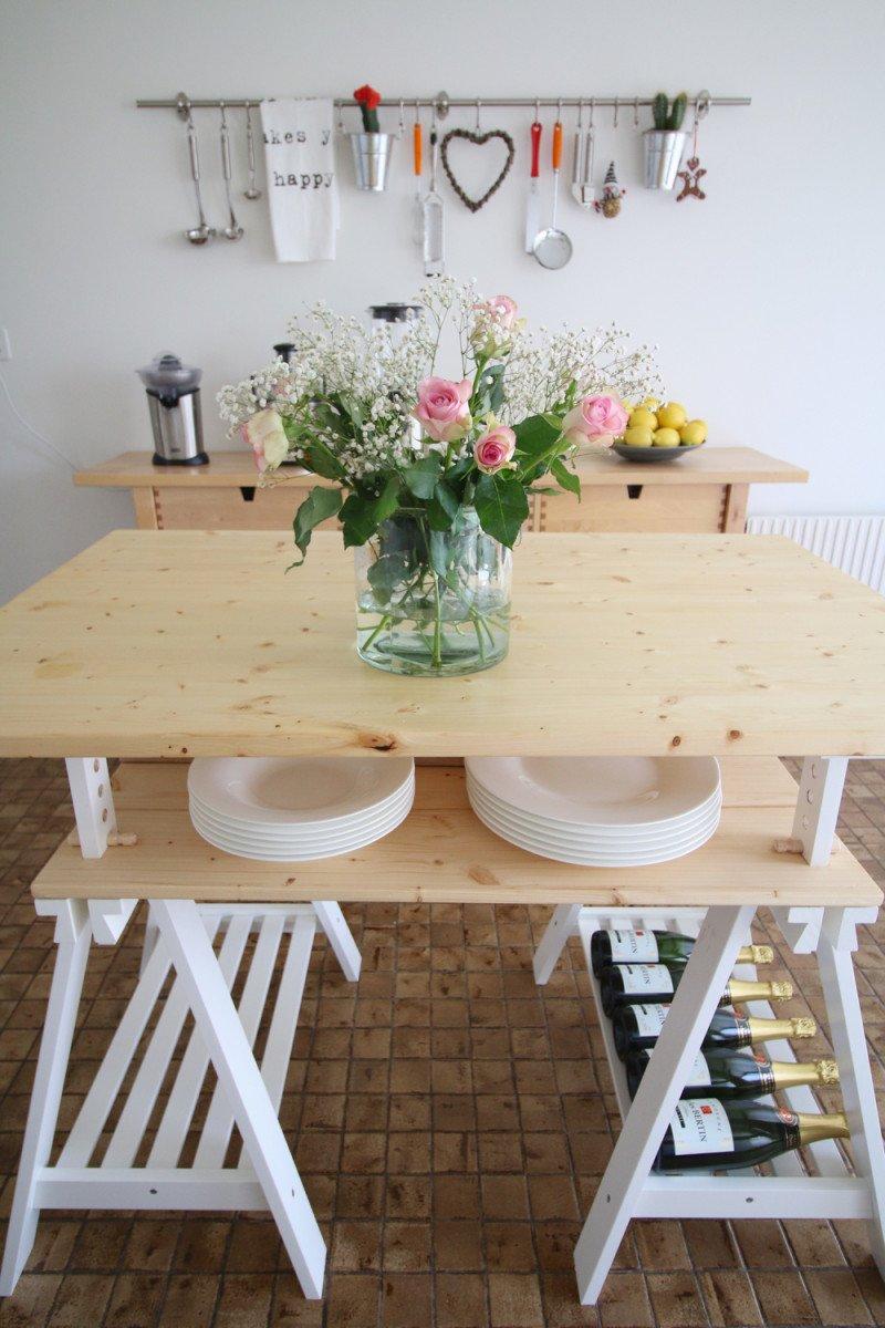 alternative ikea finnvard kitchen island kitchen island table ikea DIY an IKEA FINNVARD kitchen island