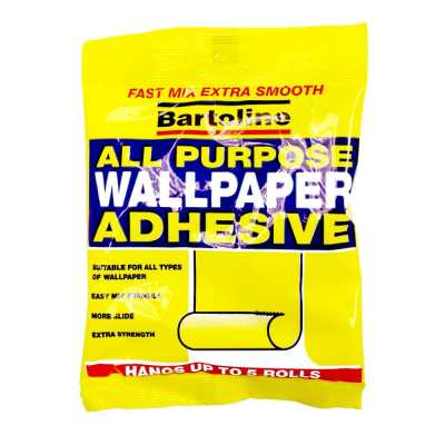 Bartoline All Purpose Wallpaper Adhesive Paste Upto 5 roll Pack   eBay
