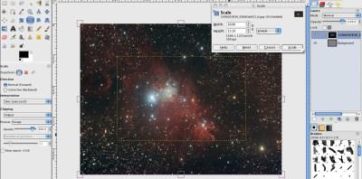 How to make a Cosmic Wallpaper in GIMP | GIMP Tutorials Blog