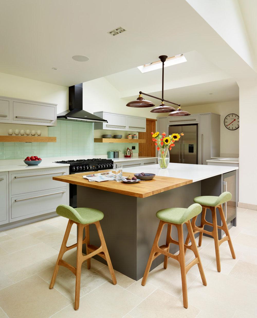 modern kitchen island designs seating kitchen island design Modern Kitchen Island Designs With Seating 8