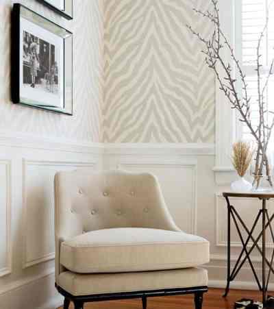 Wallpaper Trends 2019 - A Meeting of Refinement and Sobriety - Interior Decor Trends