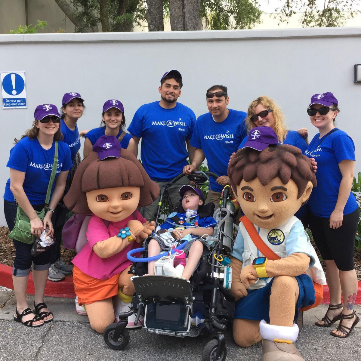 Paul s Make A Wish Trip to Disney   Independence Plus Paul recently traveled to Disney World thanks to the Make A Wish Foundation