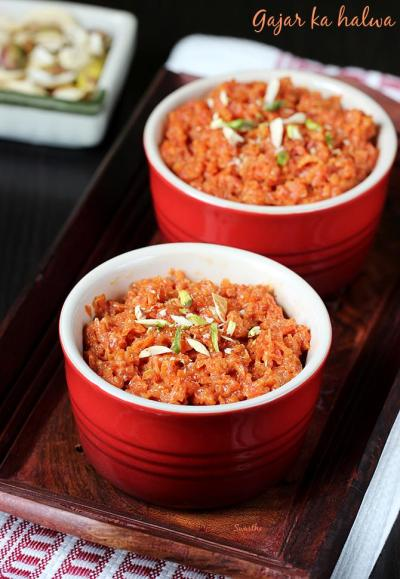 Carrot halwa recipe | Gajar ka halwa | How to make carrot halwa