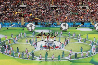 Las mejores imágenes de la inauguración del Mundial Rusia 2018 | Infogate