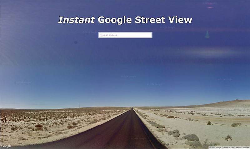 Instant Google Street View screen jpg