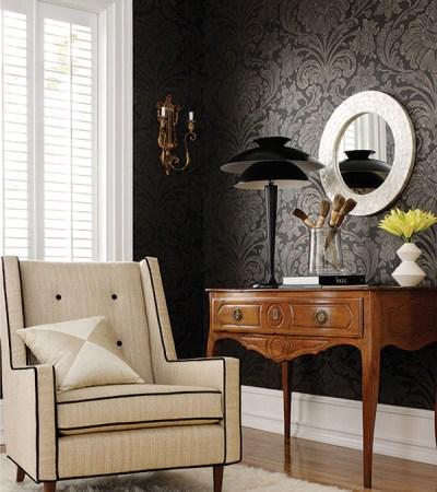 Budget Interior Decorations: Wallpaper vs. Paint | InteriorHolic.com