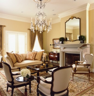 Traditional Home in Neutrals - Interiors By Color