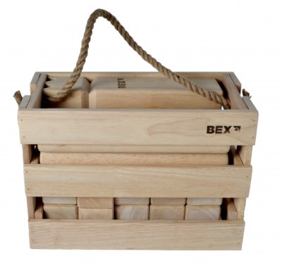 BEX Kubb Viking Original Rubber Wood in Wooden Box - Internet-Toys