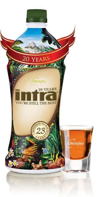 Intra juice 23 ekstrak - Intra Lifestyles Herbal Drink