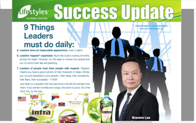 LIFESTYLES INTRA GLOBAL TEAM TRAINING - BUSINESS - Intra ...