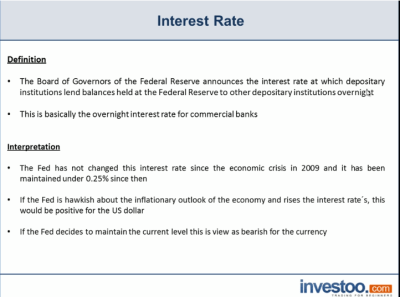 Interest Rates Definition | Investoo.com - Trading School, Brokers and Offers