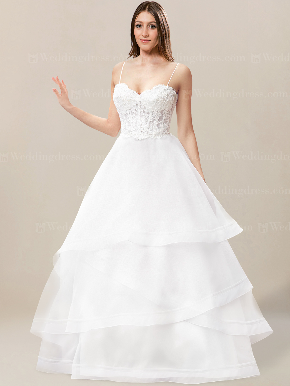 your guide to buying a beach wedding dress beach wedding dresses cheap Tiered Beach Wedding Dress