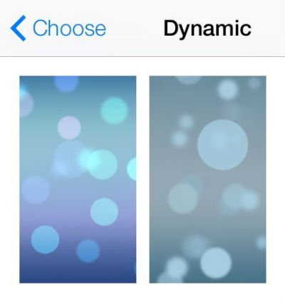 iOS 7 Brings Dynamic and Panoramic Wallpapers to the iPhone | The iPhone FAQ