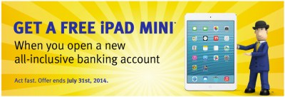 RBC Promo: Open a New Bank Account, Get a Free iPad mini [u] | iPhone in Canada Blog