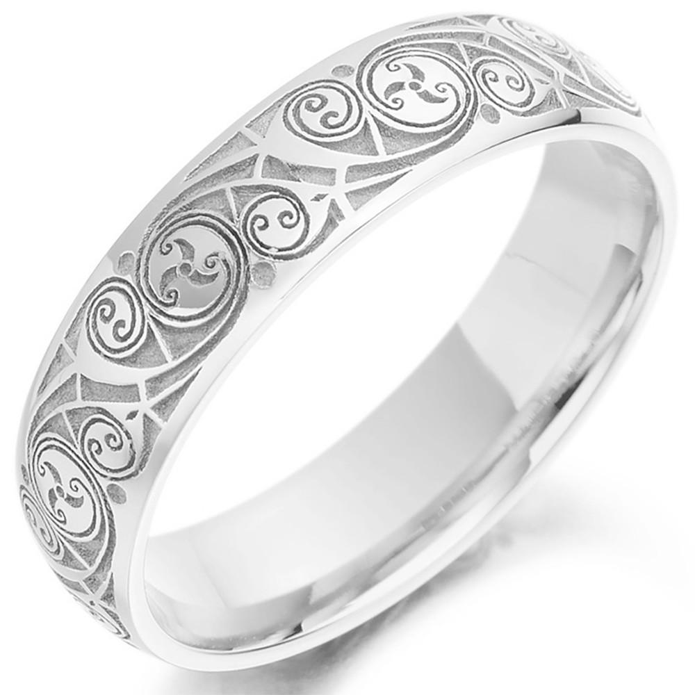 irish wedding rings bands celtic wedding rings celtic wedding ring Celtic Wedding Ring Mens Gold Celtic Spiral Triskel Irish Wedding Band