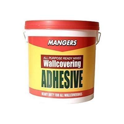 Mangers 1kg Ready Mixed All Purpose Wallpaper Paste Adhesive Glue