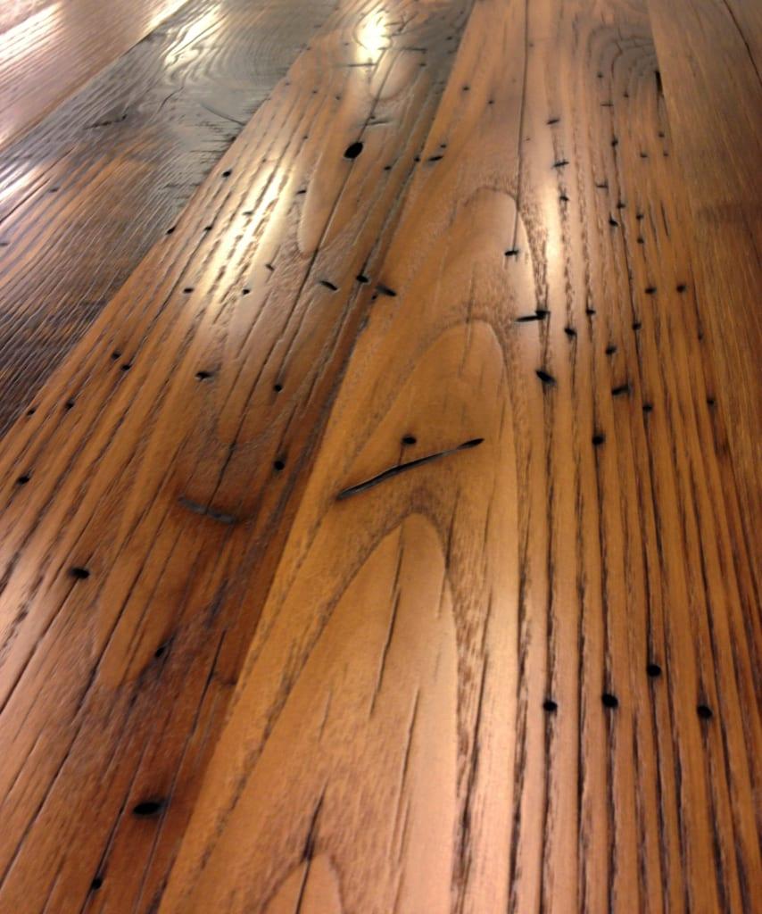 using reclaimed wood wood countertops kitchen Reclaimed wjite oak