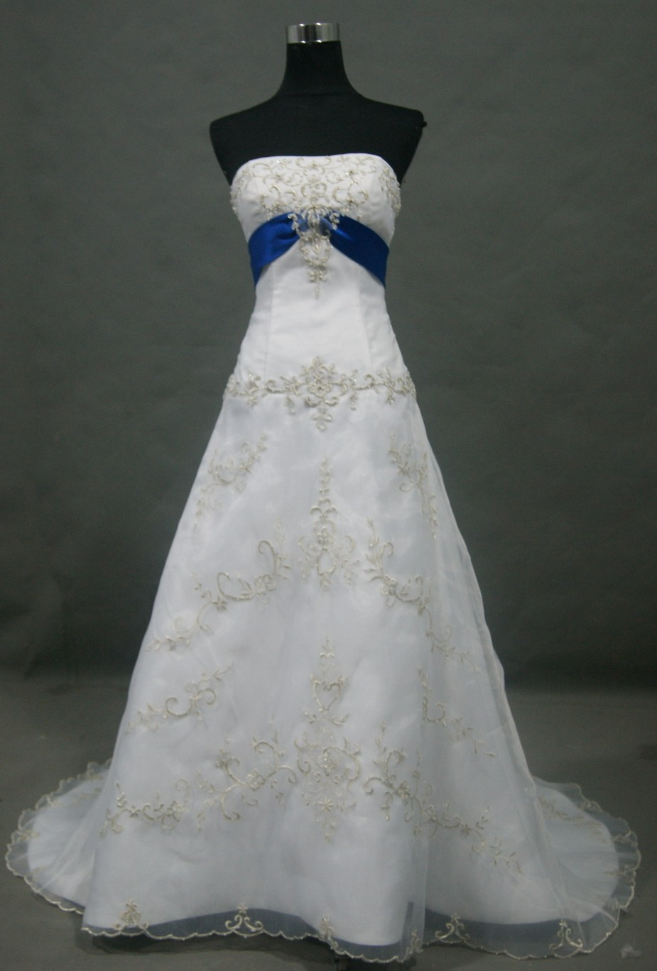 wedding dresses with royal blue accents royal blue wedding dresses Wedding Dresses With Royal Blue Accents 66