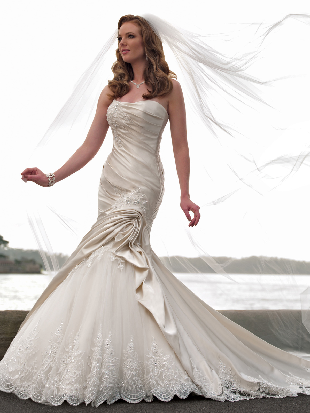 mermaid wedding dresses mermaid style wedding dress strapless mermaid wedding dress with lace