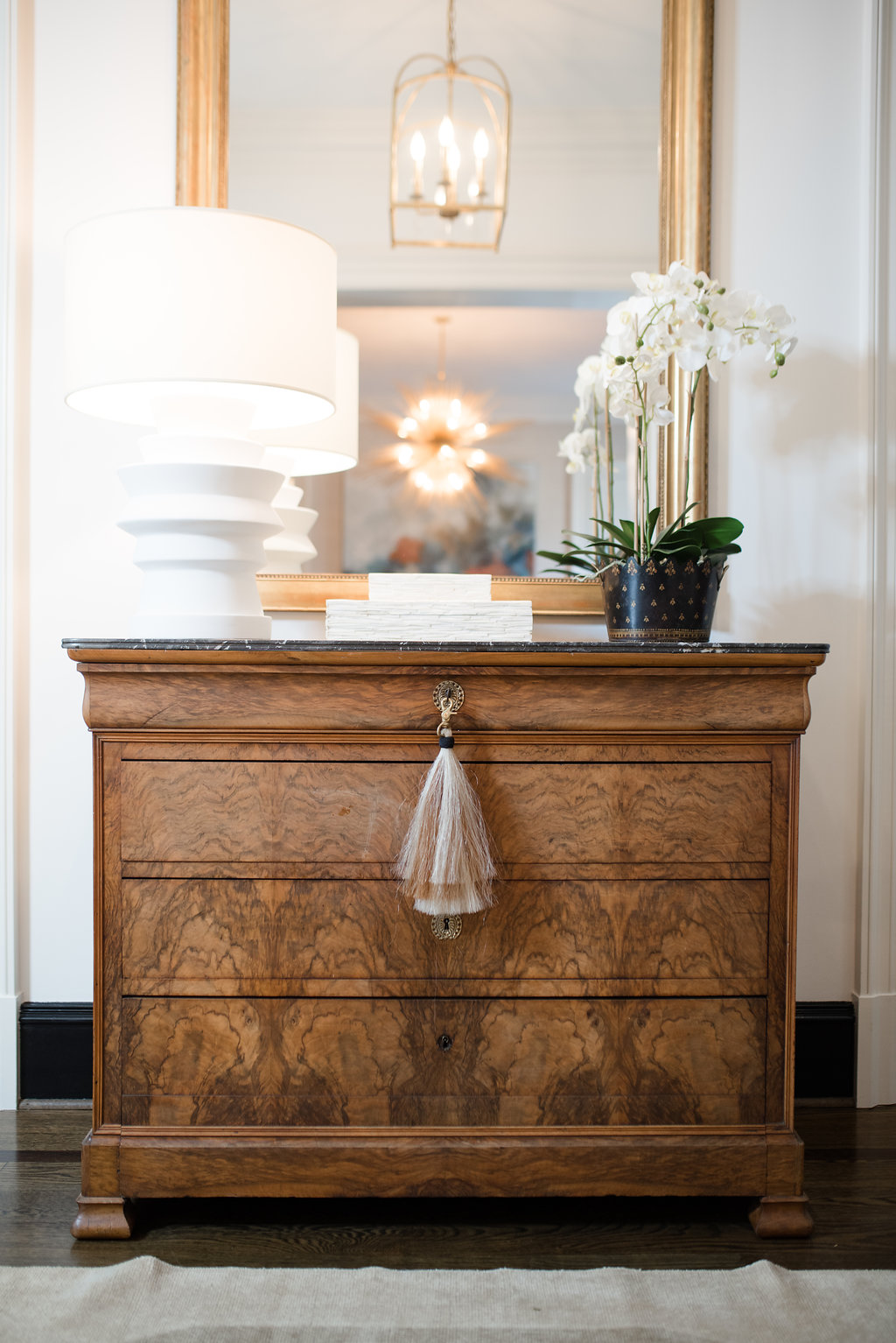 Styling Wet Bar and Entry Hall Table