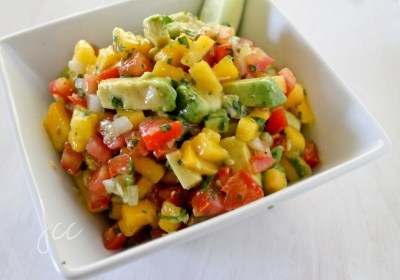 Jerk Pork Sliders with Mango Avocado Salsa - Jehan Can Cook