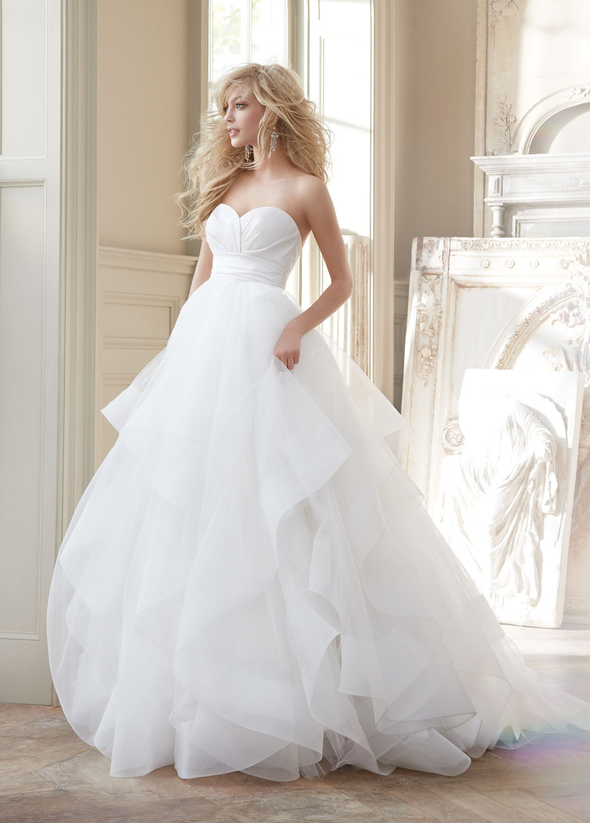 Bridal Gowns and Wedding Dresses by JLM Couture - Style 6358