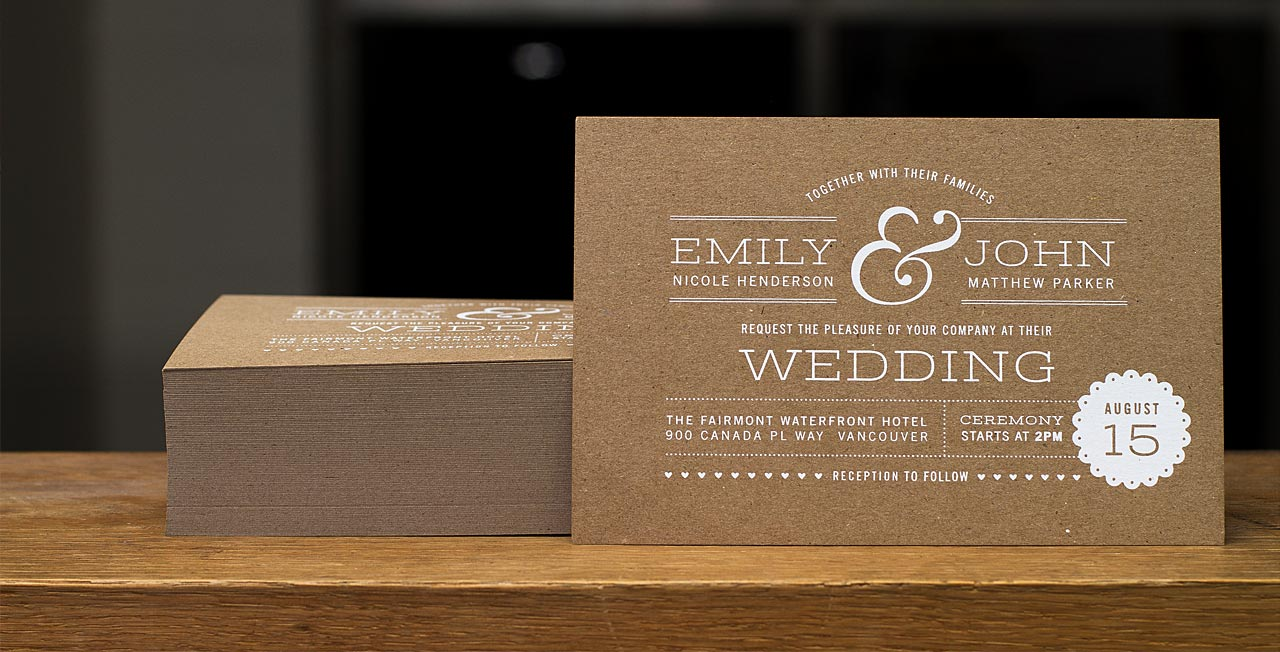 wedding ideas photo wedding invitations Custom Printed Wedding Invitations Design your Wedding Invitations from Jukebox