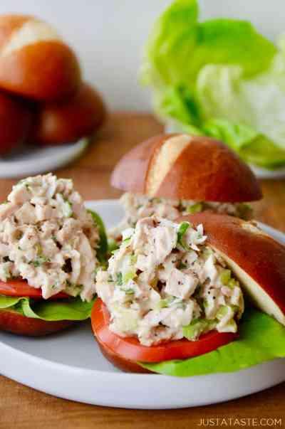 The Best Leftover Turkey Salad | Just a Taste