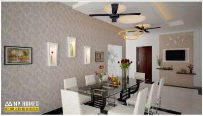 Kerala style dining room designs for homes & house interior
