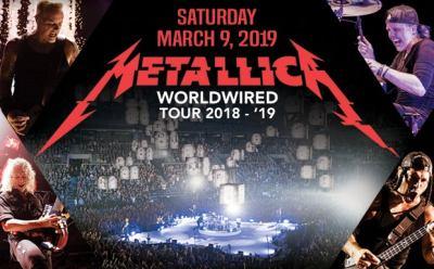 Metallica: WorldWired Tour 2019   KFC Yum! Center