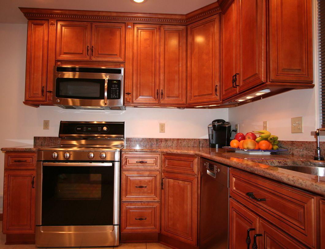 rtacabinetsmapleoakbamboo kitchens with maple cabinets Copyright KitchenCabinetDiscounts Madison Avenue RTA Cabinets Alex RTA kitchen cabinets discounts MAPLE OAK BAMBOO BIRCH cabinets
