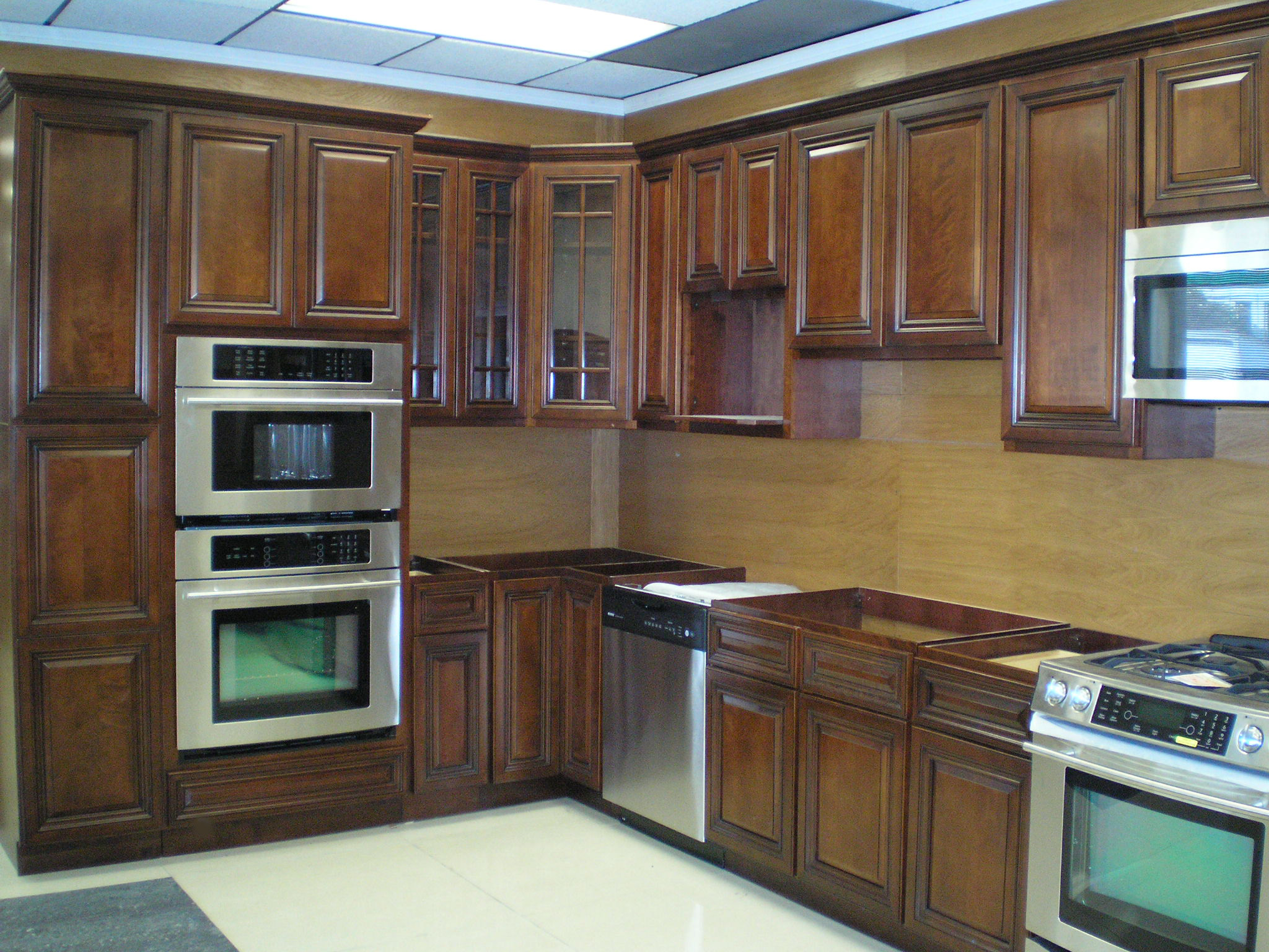 walnut kitchen cabinets solid wood kitchen cabinets Gallery of Our Exclusive All Wood Cabinetry