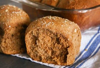 One Hour Brown Bread Dinner Rolls - Kleinworth & Co