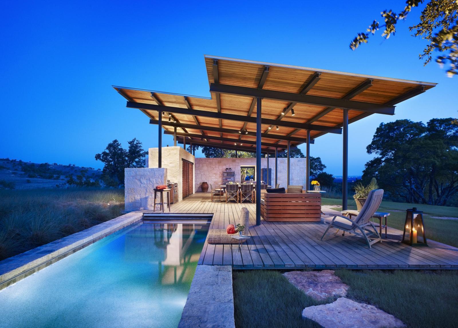 Story Pool House | Lake Flato