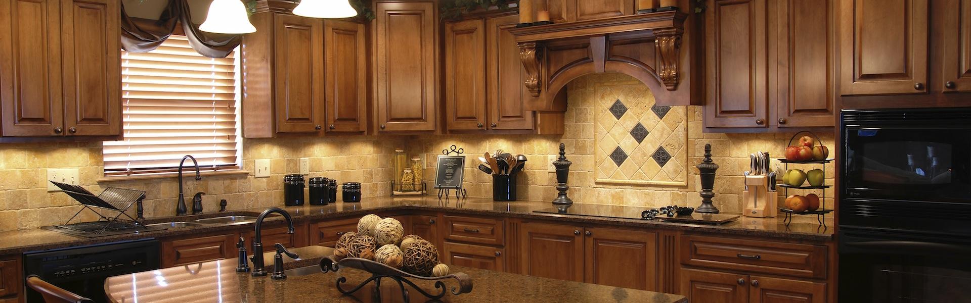 kitchen cabinets custom kitchen cabinets A beautiful interior of a custom kitchen