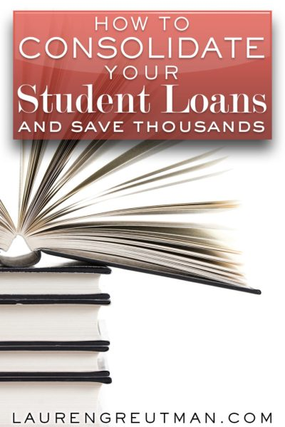 How to save thousands on your student loans - Lauren Greutman