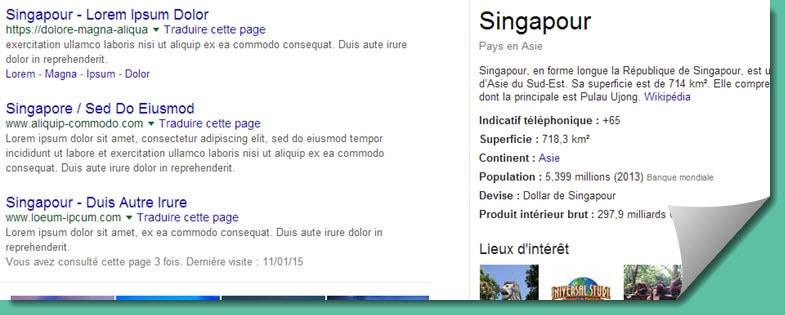 singapour carte