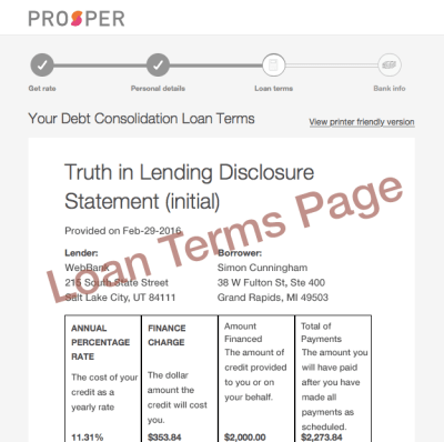 Prosper Loan Review for Borrowers: Is this Legit?