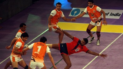Pro-Kabaddi Matches Schedules and Photos