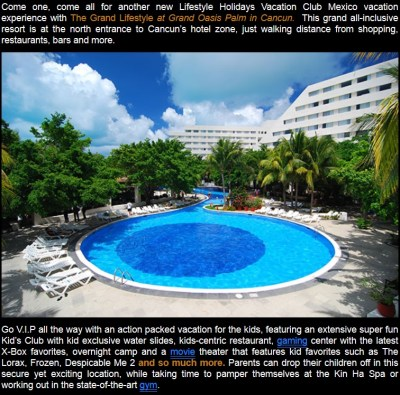 Grand Oasis Palm Cancun - Lifestyle Holiday Vacation Club ...