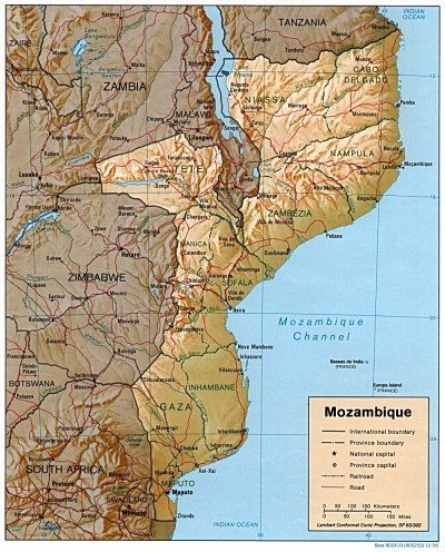 Mozambique Maps - Perry-Castañeda Map Collection - UT Library Online