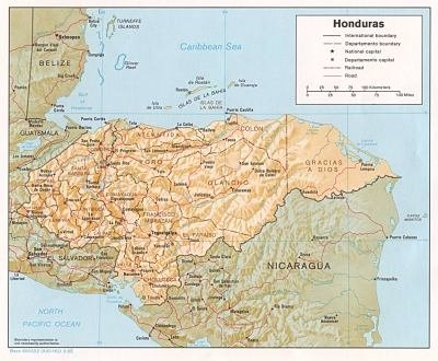 Honduras Maps - Perry-Castañeda Map Collection - UT Library Online