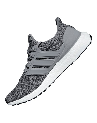 Men's Grey adidas Ultra Boost | Life Style Sports