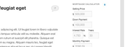 Advanced Real Estate Mortgage Calculator WordPress Plugin - Lightning Rank - Private Blog Network